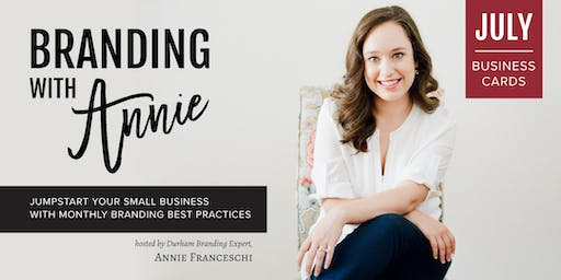 Branding with Annie: Business Cards Workshop
