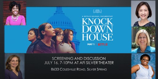 Knock Down the House Screening at AFI Silver