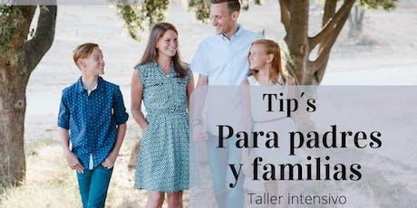 Tips Para Padres y Familias Lerma boletos