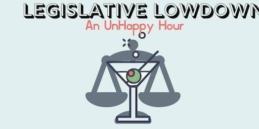 Legislative Lowdown: An UnHappy Hour