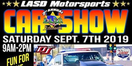 3rd Annual LASD Motorsports Car and UTV Show tickets