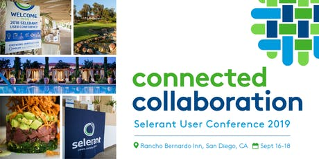 Selerant User Conference 2019 tickets