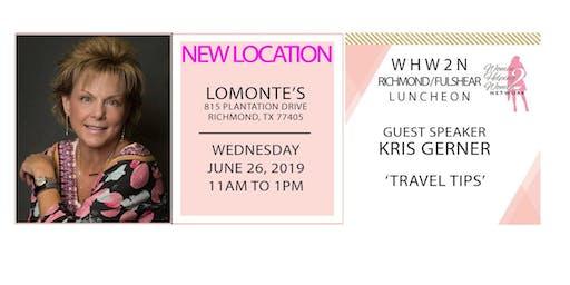 WHW2N - Richmond / Fulshear Luncheon - NEW LOCATION