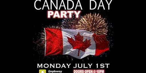 OTTAWA'S OFFICIAL CANADA DAY PARTY WITH SPECIAL GUEST DJ FROM TORONTO.
