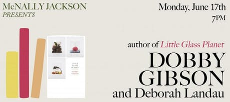 Dobby Gibson: Little Glass Planet, With Deborah Landau [Live Poetry Reading] tickets