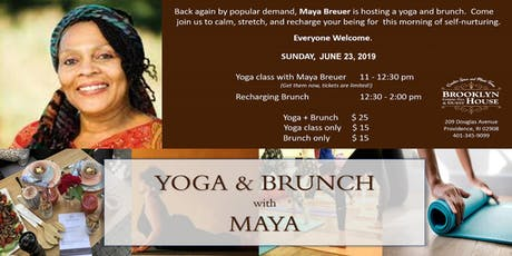 YOGA & BRUNCH with MAYA BREUER tickets
