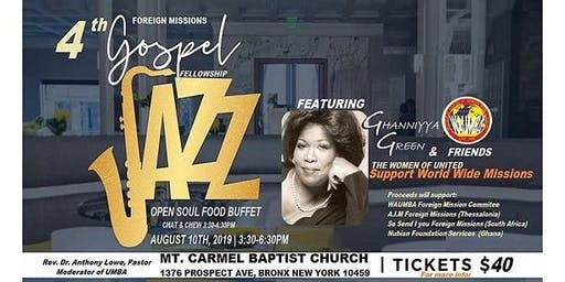 GOSPEL JAZZ SHOW FOR THE CAUSE OF MISSIONS