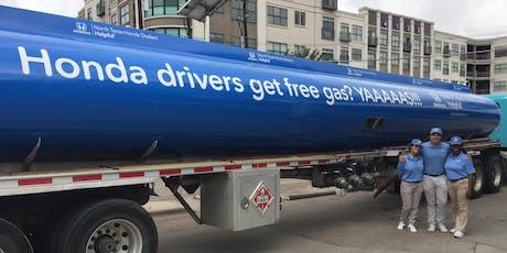 Free Gas for Hondas in Paris, courtesy of North Texas Honda tickets