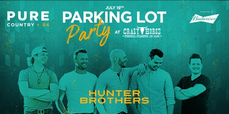 Crazy Horse Parking Lot Party - Hunter Brothers  tickets