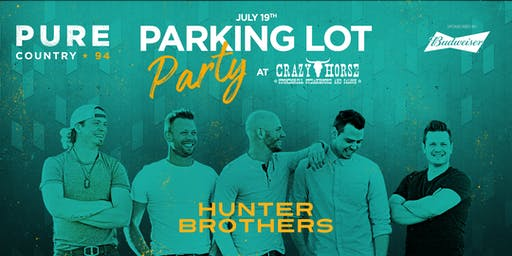 Crazy Horse Parking Lot Party - Hunter Brothers