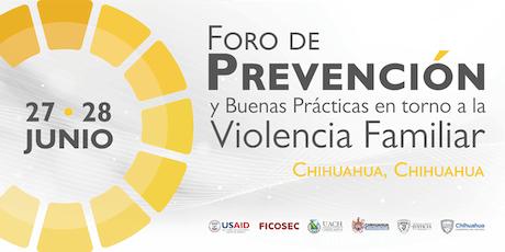 Foro de Prevención y Buenas Prácticas en torno a la Violencia Familiar entradas