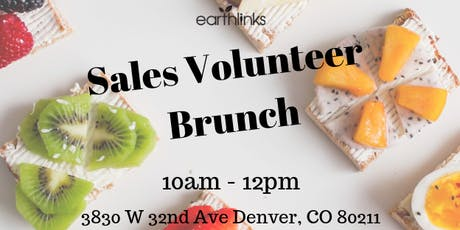 EarthLinks Sales Volunteer Brunch tickets