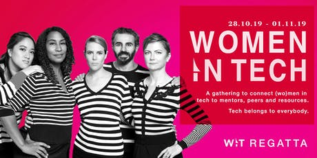 Amsterdam Women in Tech Regatta 2019 tickets