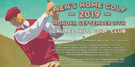 The Men's Home Golf Tournament 2019 tickets