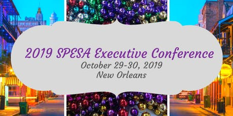 2019 SPESA Executive Conference tickets