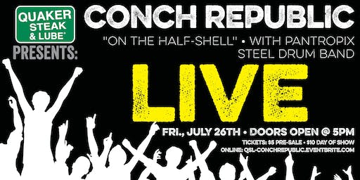 "FAKE FRIDAYS: Conch Republic ""On The Half-Shell"""