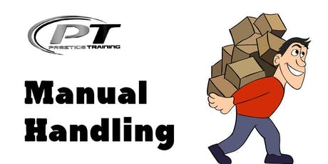 Manual Handling Course -  Galway City - Menlo Park Hotel 25th 7:00pm - Evening Class tickets