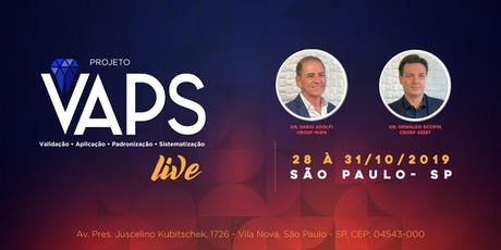 Projeto VAPS LIVE ingressos
