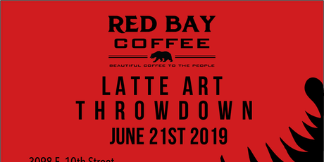 Red Bay Coffee Roasters Latte Art Throw Down  tickets
