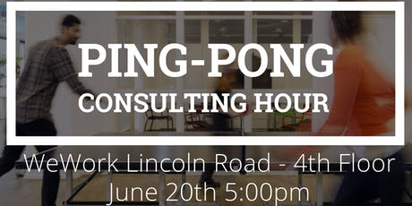 Ping-Pong Consulting Hour tickets