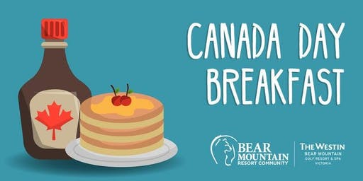 Canada Day Breakfast at Bear Mountain