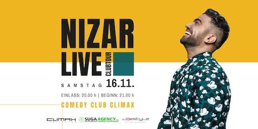 Comedy im Climax: NIZAR LIVE!