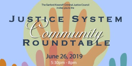 Justice System Community Roundtable tickets