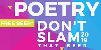 Poetry Don't Slam - Open  June