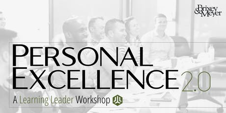Personal Excellence 2.0 - A Learning Leader Workshop tickets