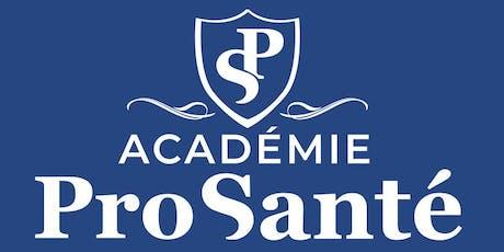 Académie Pro-Santé 5 à 7 Vin et fromages billets