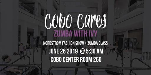 Cobo Cares - Centered Around you Series: Zumba with Ivy Mitchell