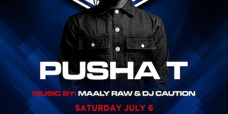 Pusha T @ Noto Philly July 6th tickets