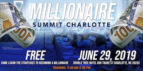 Millionaire Summit tickets