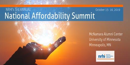 NRHI's 3rd Annual National Affordability Summit