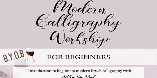 Modern Calligraphy Workshop - BYOB