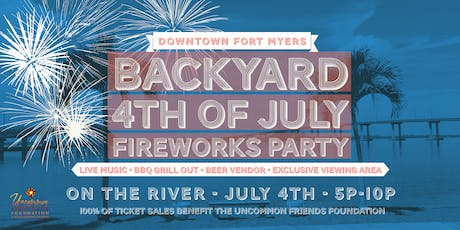 Backyard 4th of July Fireworks Party tickets