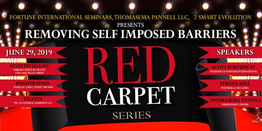REMOVING SELF IMPOSED BARRIERS RED CARPET LEADERSHIP SERIES