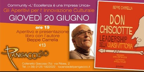 DON CHISCOTTE: Beppe Carrella RITORNA in Canavese - Aperi^Cultura biglietti