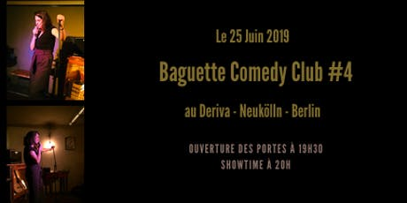 Baguette Comedy Club #4 Tickets