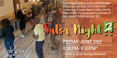 Salsa Night at the Bean!