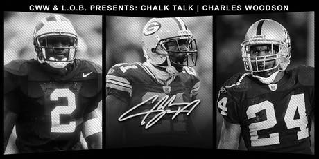 CHALK TALK   CHARLES WOODSON tickets
