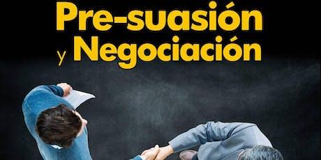 SEMINARIO INFLUENCIA, PRE-SUASION Y NEGOCIACIÓN II tickets