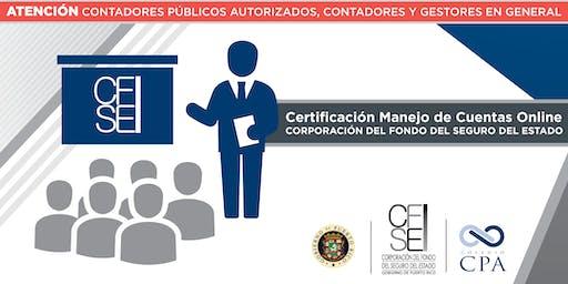 Certificación Manejo de Cuentas Online