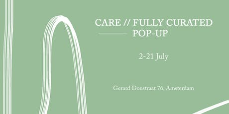 CARE // FULLY CURATED POP-UP - Opening Night Panel talk  tickets