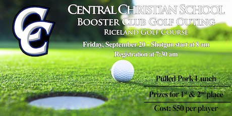 Central Christian Booster  Club Golf Outing tickets