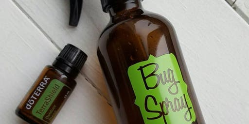 Workshop - Non-Toxic DIY Bug Spray