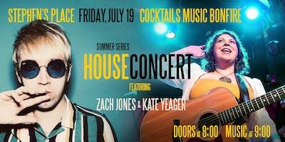 House Concert and Bonfire