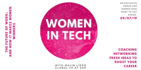 Women in Tech: The Future of Work and how it makes Women Winners tickets