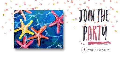 Sip + Paint | Starfish Ocean