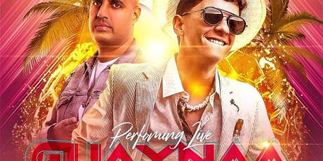 GUAYNAA LIVE ON STAGE :: BARU LOUNGE :: NEW JERSEY :: FIND THE PARTY INC tickets